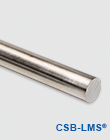 Precision stainless steel shafts