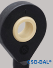 CSB-BAL® Plastic spherical bearings